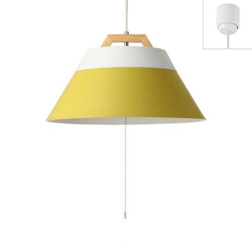 LAMP by 2TONE 3BULB PENDANT WH/YE #001768(WH/YE) メルクロス(MERCROS)製ペンダントライト
